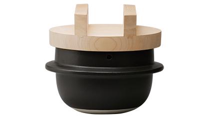 日常茶飯器 羽釜 3合ごはん鍋